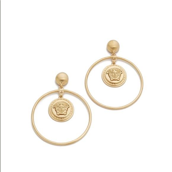 470432c38 Versace Medusa Hoop Earrings. M_5bda6a14619745934861c084